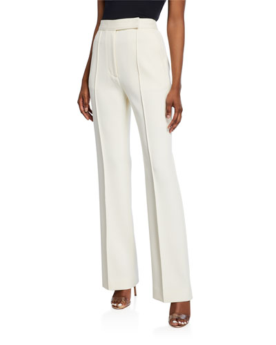 Streamlined Tailored High-Rise Pants