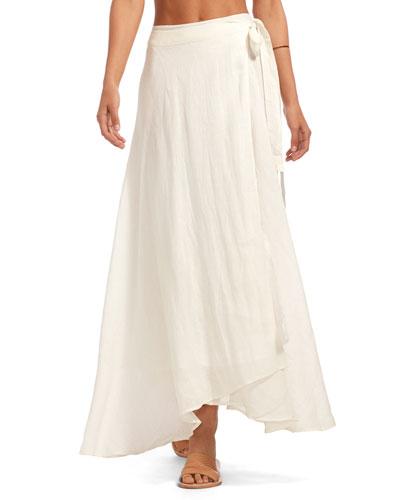 Positano Gauze Coverup Skirt