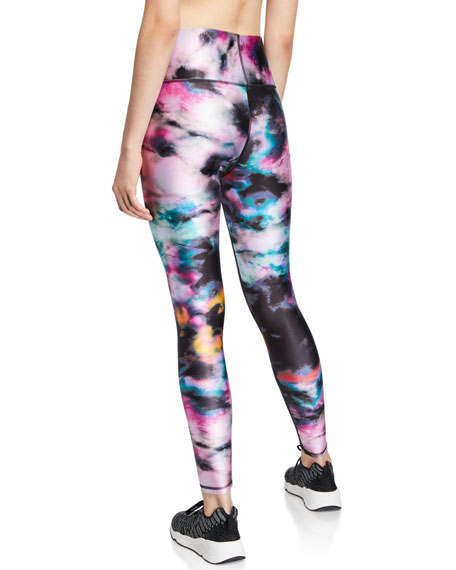 Printed High-Rise Performance Leggings