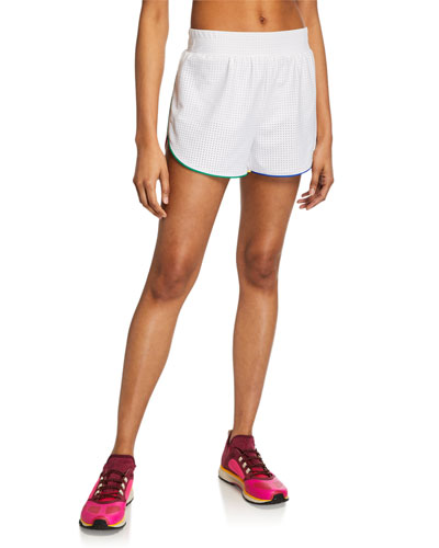 Pinhole Mesh Active Shorts