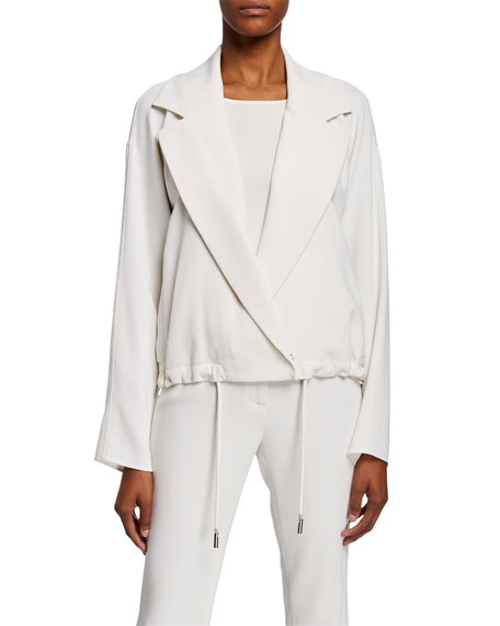 Zaylee Drawcord Topper Jacket