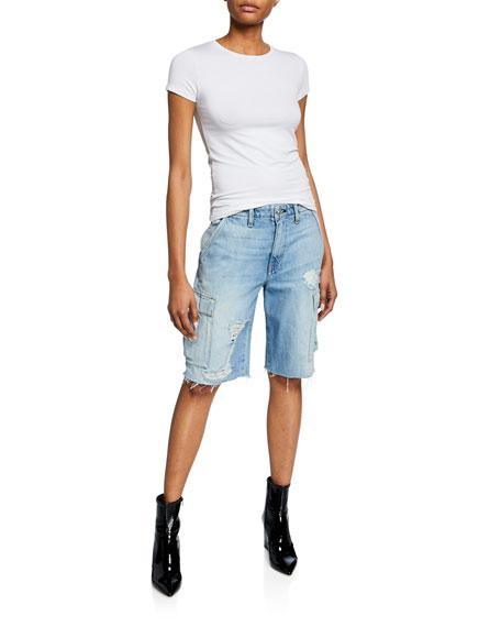 Jane Relaxed Cargo Shorts