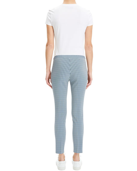 Classic Screen Viscose Skinny Pants