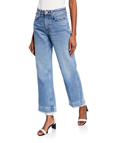 Ruth Super High-Rise Straight Cropped Jeans