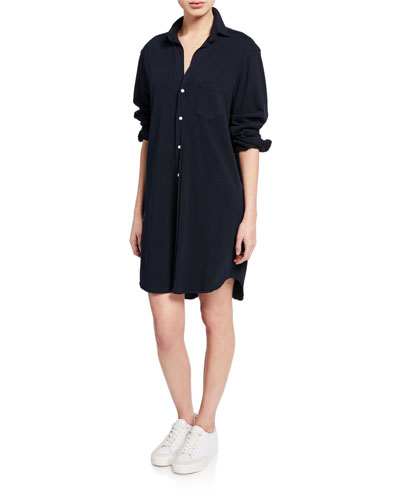 Mary Relaxed Cotton Shirtdress