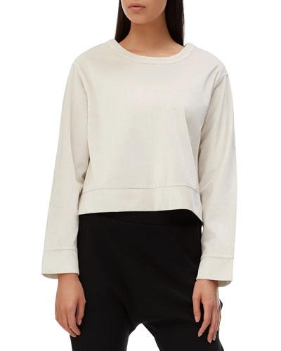 Maddox Cropped Sweatshirt