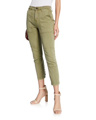 The Weslan Lace-Up Ankle Cargo Pants
