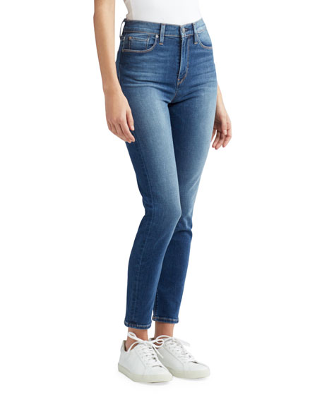 Holly High-Rise Crop Skinny Jeans