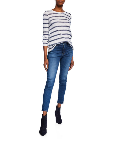 The Mila Ankle Super High-Rise Skinny Jeans