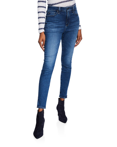 e600a43658a44d AG The Mila Ankle Super High-Rise Skinny Jeans
