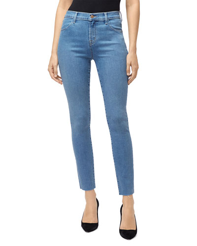 Leenah High-Rise Ankle Skinny Jeans
