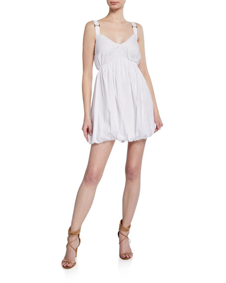 Image 1 of 1: Pamela Sleeveless Strappy Short Dress