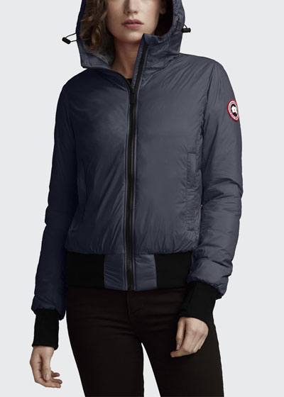 Dore Slim-Fit Hooded Jacket w  Down Fill Quick Look. BLACK  NAVY. Canada  Goose e954e70b71