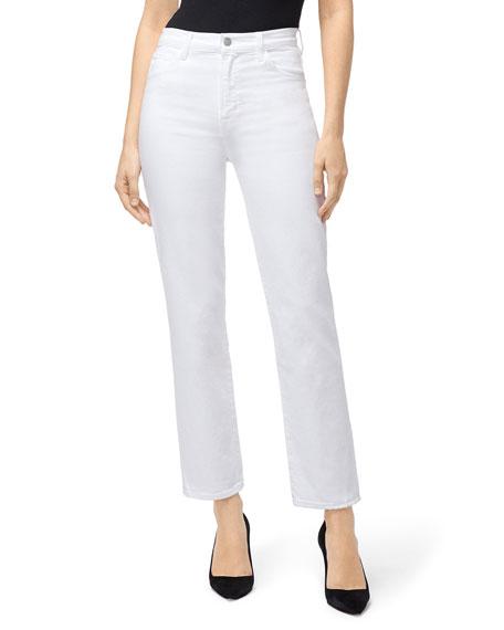 83d4d28d82 J Brand Jules High-Rise Straight-Leg Jeans