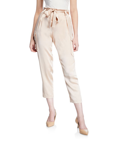Roxy Paperbag Silk Cargo Pants