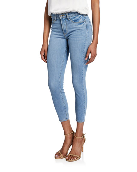 L'Agence Margot High-Rise Skinny Ankle Jeans