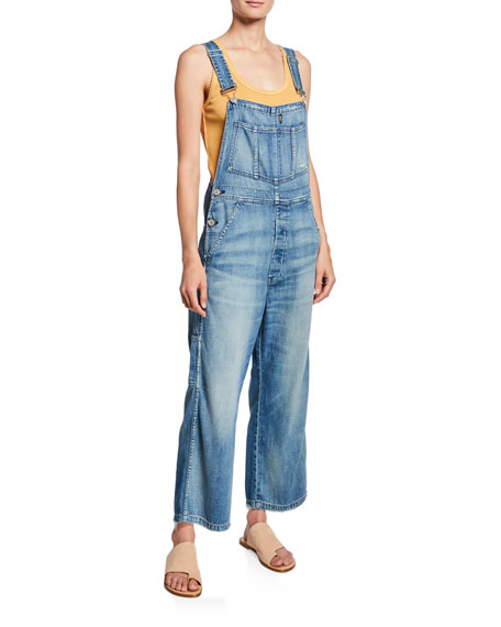 Ally Relaxed Denim Overalls