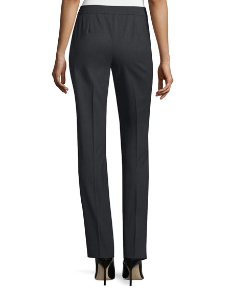 Plus Size Barrow Straight-Leg Pants