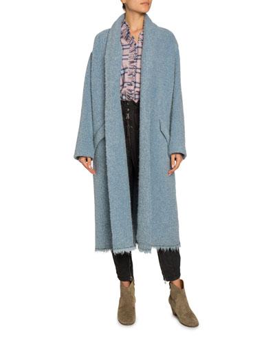 Faby Wool-Alpaca Long Coat