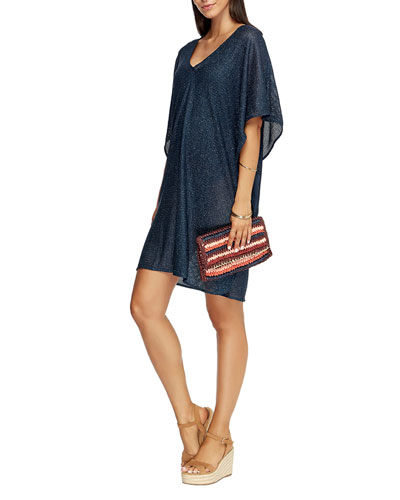 Mirage V-Neck Coverup Kaftan