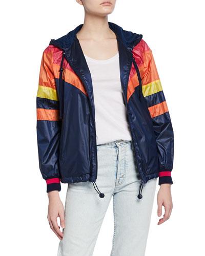 The Triple Stripe Sport Breaker Jacket