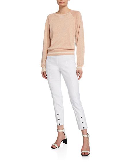 Simone Snap-Front Pants