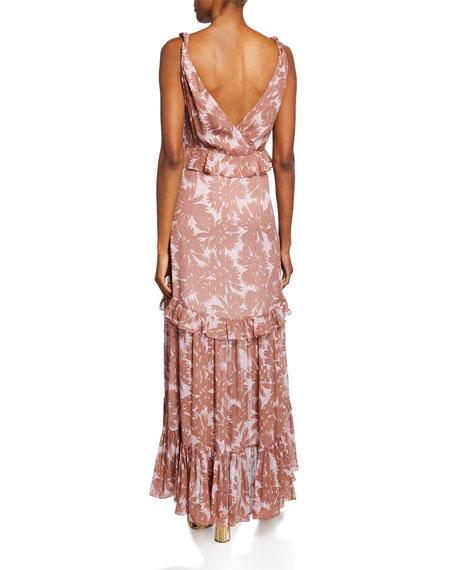 Misha Tiered Sleeveless Maxi Dress