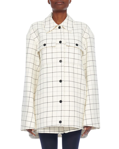 Windowpane Workman Coat