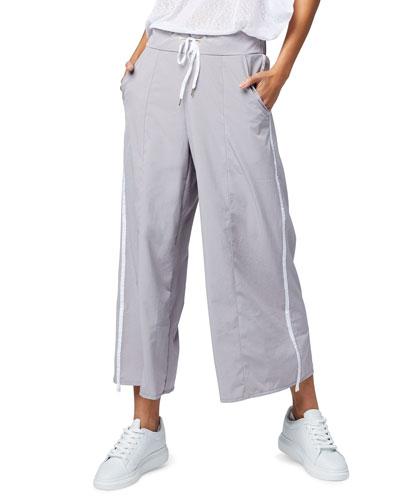 Norma Side-Stripe Drawstring Pants