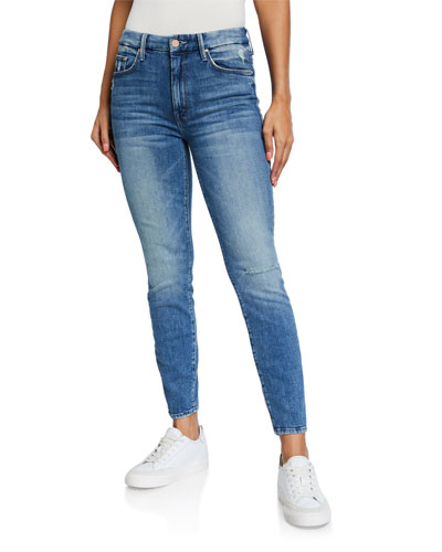 Looker High-Waisted Ankle Jeans