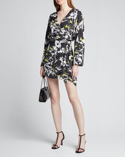 Ophelia Drop-Shoulder Asymmetrical Dress