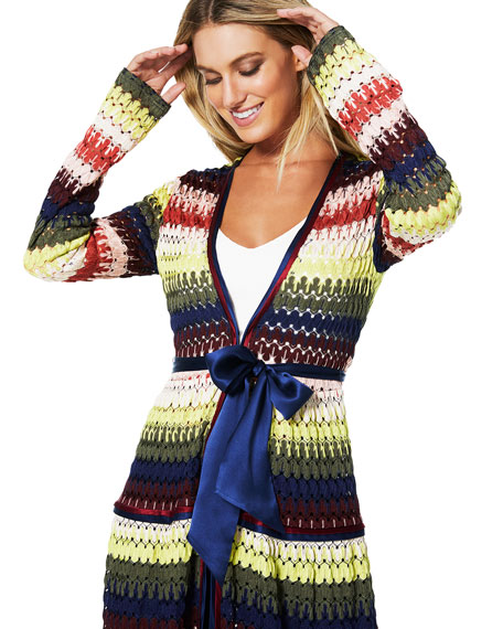 Amretha Knit Duster Dress