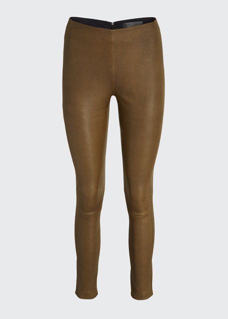 Simone Leather Pants