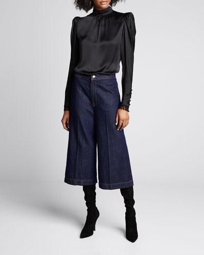 Le Culotte Denim Trousers
