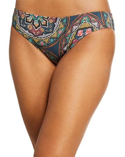 Spezia Mosaic Hipster Bikini Swim Bottom
