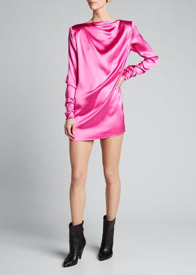Pisa Long-Sleeve Mini Dress