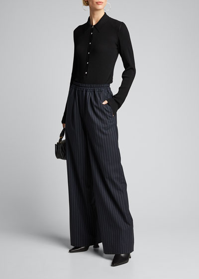 Niamey Striped Pull-On Pants