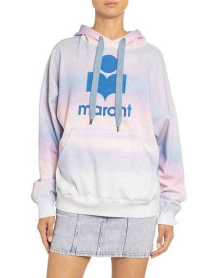 Mansel Hooded Logo Sweatshirt