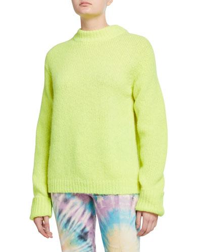 Cozette Alpaca Easy Sweater