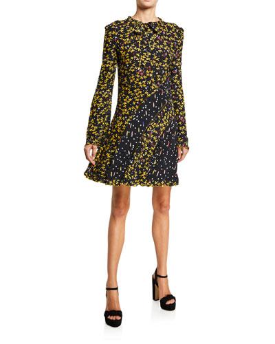 Catia Mixed Print Dress
