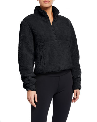 Shanti Half-Zip Sherpa Fleece Jacket