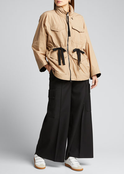 Bistre 4-Pocket Raincoat