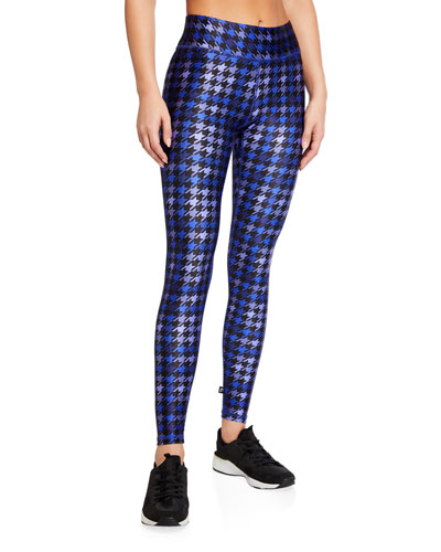 American Dream Tall Band Houndstooth Leggings