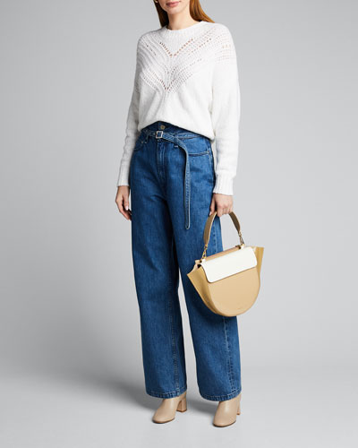High-Rise Paperbag Jeans