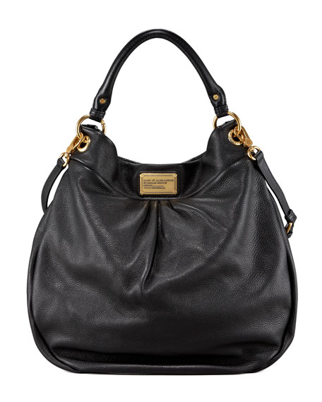 MARC by Marc Jacobs Classic Q Hillier Hobo, Black a2f2dae2770a