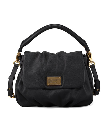 Classic Q Lil Ukita Satchel Bag, Black