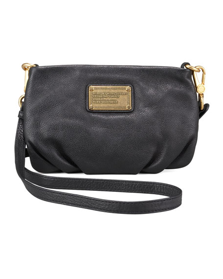 Classic Q Percy Crossbody Bag, Black