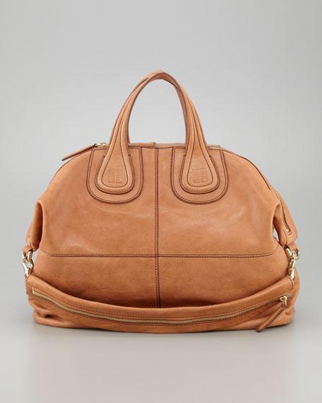 Givenchy Nightingale Zanzi Leather Satchel Bag 24942ffad3083
