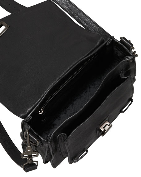 PS1 Shoulder Pouch, Black