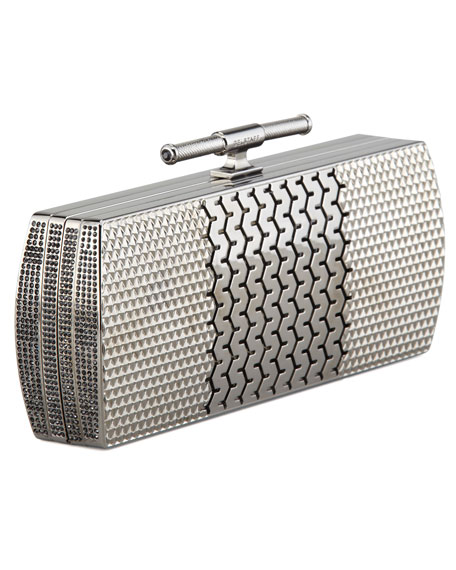 Tredington Metal Clutch Bag